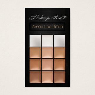 Makeup Artist/Cream Eyeshadow Palette Visitenkarte
