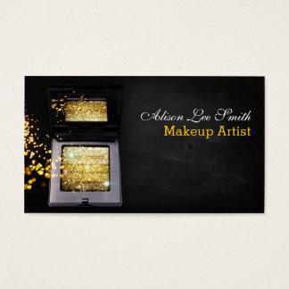 Makeup Artist/Gold Magic Shimmer Brick Visitenkarte
