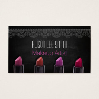Makeup Artist/Lipstick Visitenkarte
