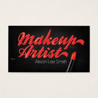 Makeup Artist/Netz Lipstick Visitenkarte