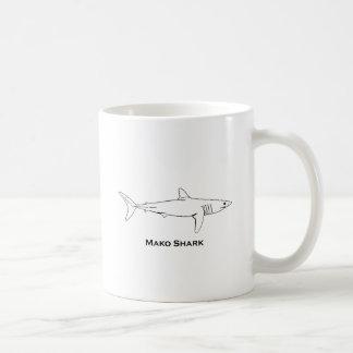Mako-Haifisch Tasse