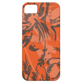 Makole Hibiskus hawaiisches mit BlumeniPhone 5 iPhone 5 Etui