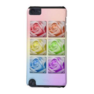 Makroregenbogen-Rosen iPod Touch 5G Hülle
