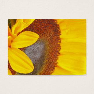 Makrosonnenblume-Visitenkarte Visitenkarte
