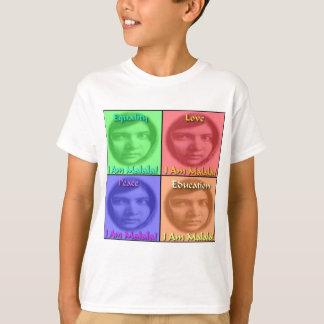 Malala Liebe-FriedensBildungs-Gleichheit T-Shirt