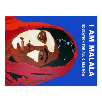 MALALA YOUSAFZAI POSTKARTE