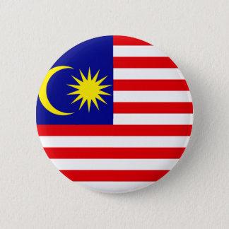 Malaysia-Qualitäts-Flagge Runder Button 5,7 Cm