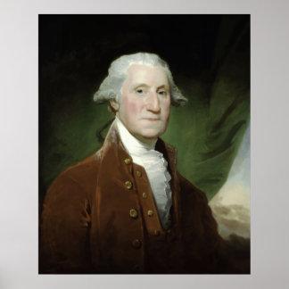 Malen Präsidenten-George Washington Poster