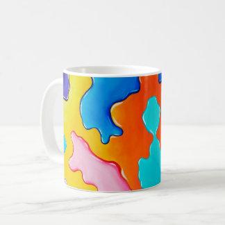 Malen Sie Fleck- Kaffee-Tasse Kaffeetasse