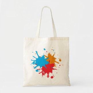 Malen Sie platsche Tasche
