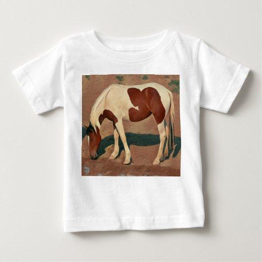 Malen Sie Pony Baby T-shirt