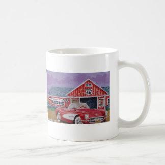 Malerei 1957corvette kaffee tassen