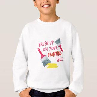Malerei-Fähigkeiten Sweatshirt