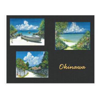 Malerei-Postkarte Okinawa Postkarte