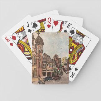Malerei wenigen Italiens, Cleveland auf Spielkarte