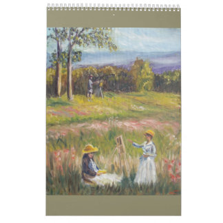 Malereikalender Wandkalender
