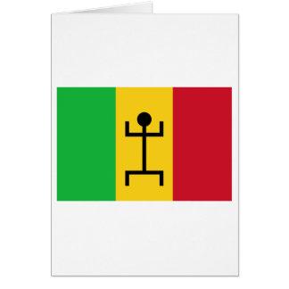 Mali-Flagge (1959-1961) Karte