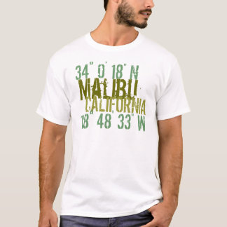Malibu-Haltung T-Shirt