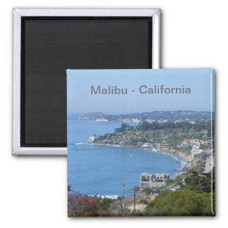 Malibu-Küsten-Magnet! Quadratischer Magnet