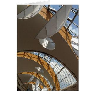 Mall-Dach abstrakt Karte