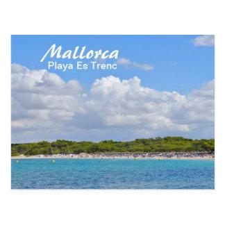 Mallorca, Playa Es Trenc - Postkarte