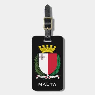 Malta* Wappen Gepäckanhänger