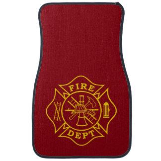 Malteserkreuz-Auto-Matten Feuer-Abteilung Autofußmatte