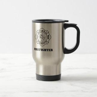 Malteserkreuz-rostfreier Stahl-Tasse Reisebecher