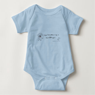 maltesisch baby strampler