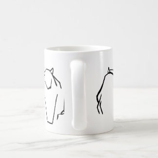 Maltesische Katze Kaffeetasse