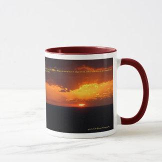 Maltesische Sonnenuntergang-Wecker-Tasse Tasse