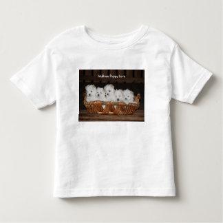 """Maltesische Welpen, """"maltesische Welpen-Liebe"""", Kleinkind T-shirt"""
