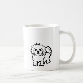 Maltesischer Hund Kaffeetasse