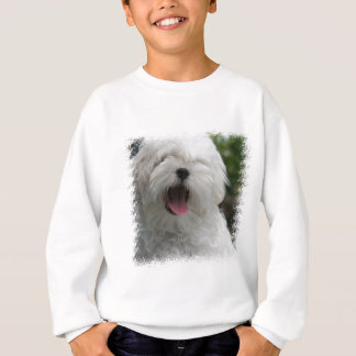 Maltesischer Hundestrickjacke Sweatshirt