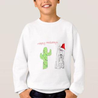Maltesisches Kaktus-Weihnachten Sweatshirt