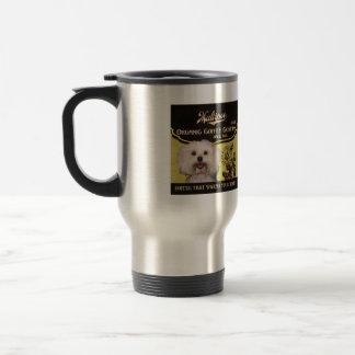 Maltipoo Marke - Organic Coffee Company Edelstahl Thermotasse