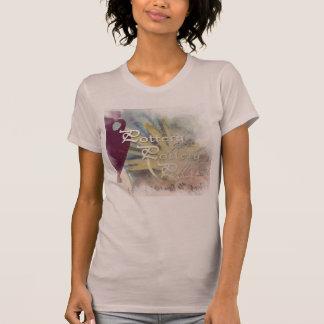 Malvenfarbe alles Tonwaren-themed Shirt