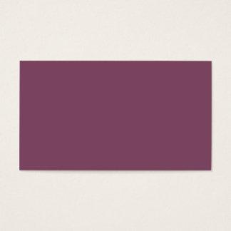 Malvenfarbene Farbe Visitenkarte