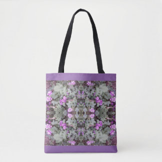 Malvenfarbene GrundTaschen-Tasche des Tasche