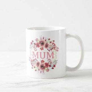 Mama-Blumen-Kreis-Tasse Kaffeetasse
