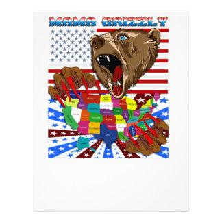 Mama-Grizzly-Set-2 21,6 X 27,9 Cm Flyer
