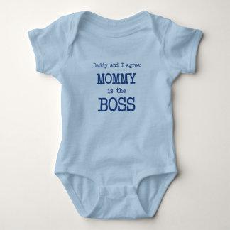 Mama ist der Chef Baby Strampler
