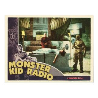 Mama-Postkarte vom Monster-Kinderradio Postkarte