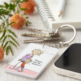 Mama sind Sie perfektes Keychain Schlüsselanhänger