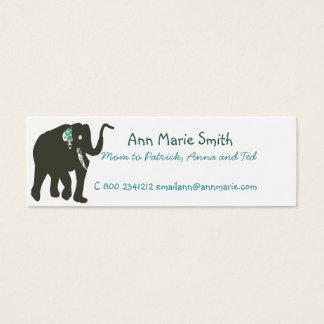 Mama-Telefonkarte Mini Visitenkarte