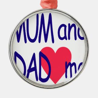 Mama und Vati ich, Mamma Silbernes Ornament