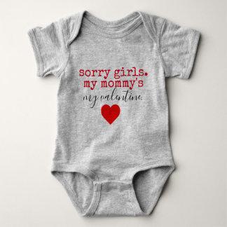 Mama-Valentinsgruß Baby Strampler