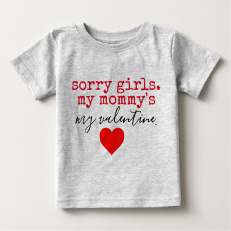 Mama-Valentinsgruß Baby T-shirt