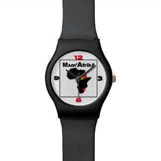 MAM'AFRIKA UHR, i-Kunst und Entwurf Armbanduhr