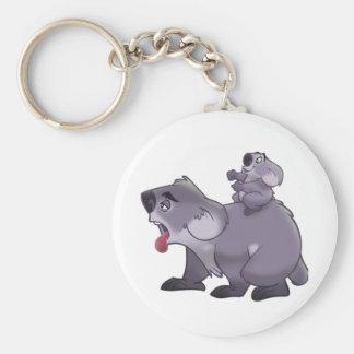 Maman de koala porte-clef